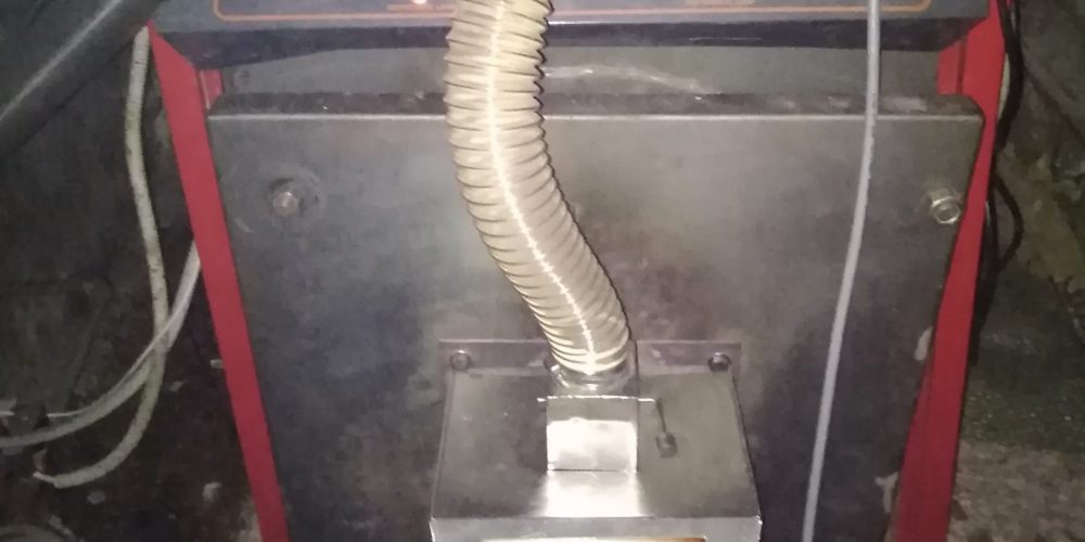 Εγκατάσταση καυστήρα πέλλετ σε πολυκατοικία 8 διαμερισμάτων