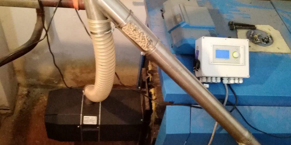 Αντικατάσταση καυστήρα πετρελαίου με καυστήρα πέλλετ σε πολυκατοικίες